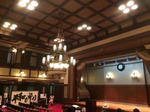 格天井の旧議場